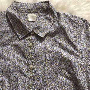 "J.Crew ""The Perfect Shirt"" Sz M"